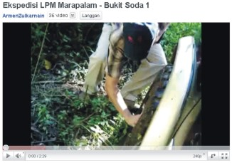 Ekspedisi LPM Marapalam - Bukit Soda 1