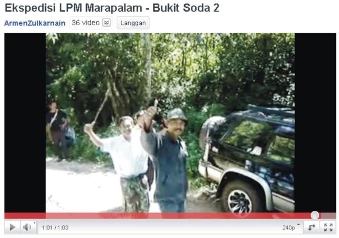 Ekspedisi LPM Marapalam – Bukit Soda 2