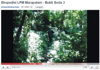 Ekspedisi LPM Marapalam – Bukit Soda 3