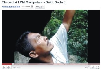 Ekspedisi LPM Marapalam - Bukit Soda 6