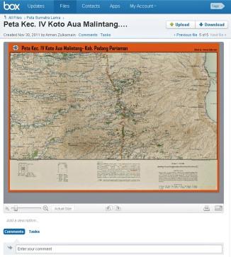 sample Peta Kec. IV Koto Aua Malintang