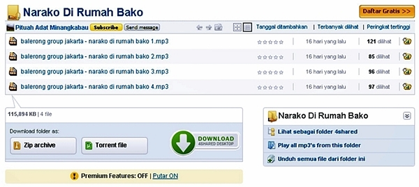 Balerong Group - Narako Di Rumah Bako