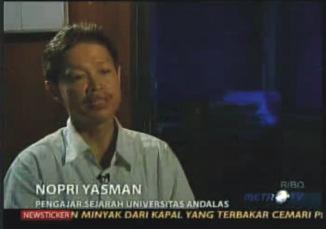 Nopri Yasman - Sejarahwan Unand