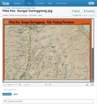 Peta Kec. Sungai Garinggiang