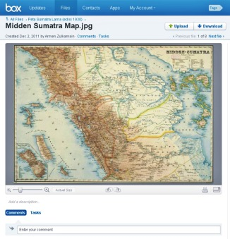 Midden Sumatra Map