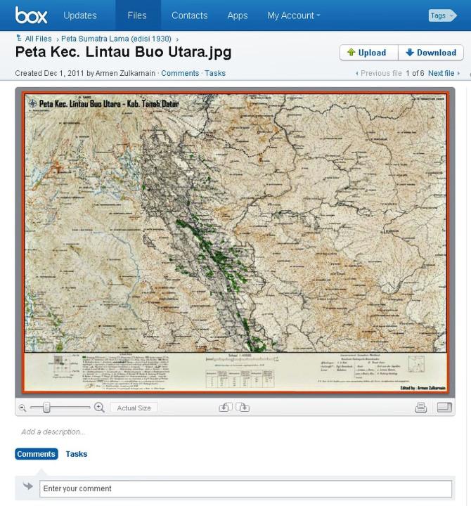 sample Peta Kec. Lintau Buo Utara