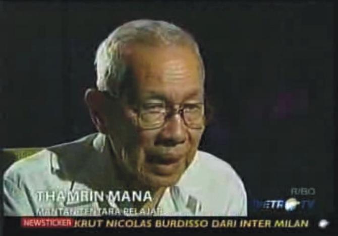 Thamrin Manan - Tentara Pelajar Di Masa PDRI